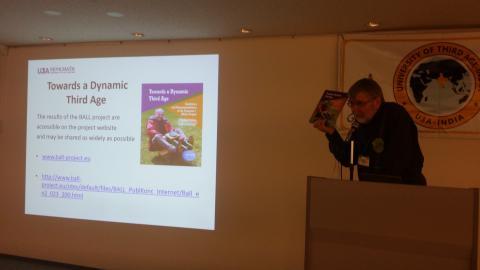 •Hans Kristjan Gudmundsson presenting the BALL guidelines